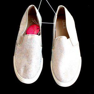 Children's Place Blush Rhinestone Shoes Girls Sz 3